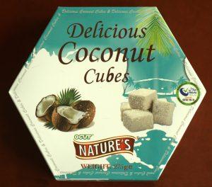 Kokosblokjes, vegan