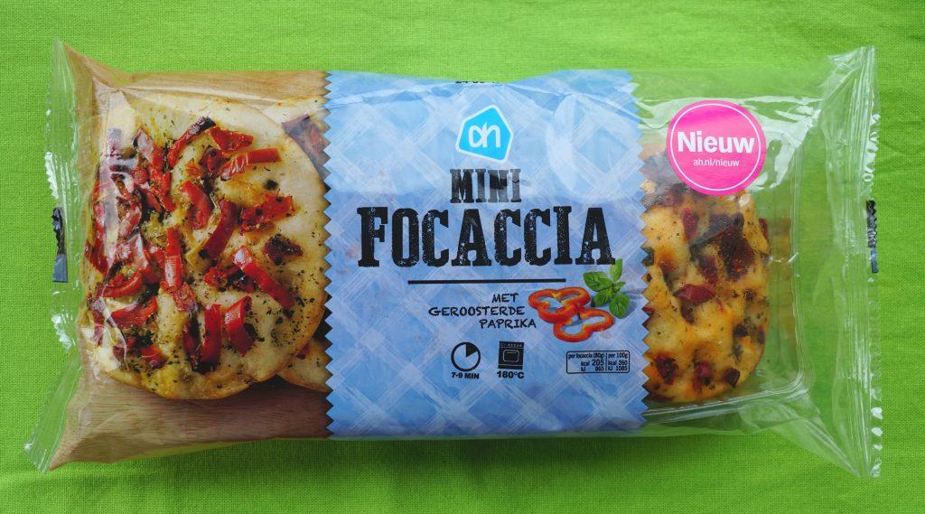 AH mini focaccia, vegan