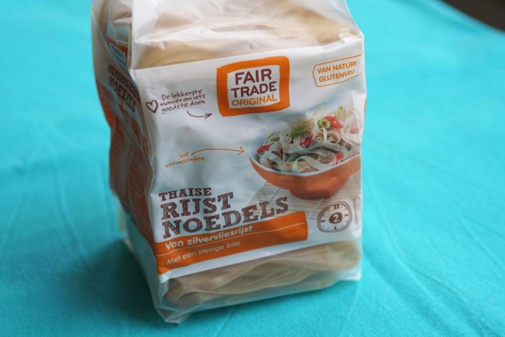 Zilvervlies rijstnoodles,vegam