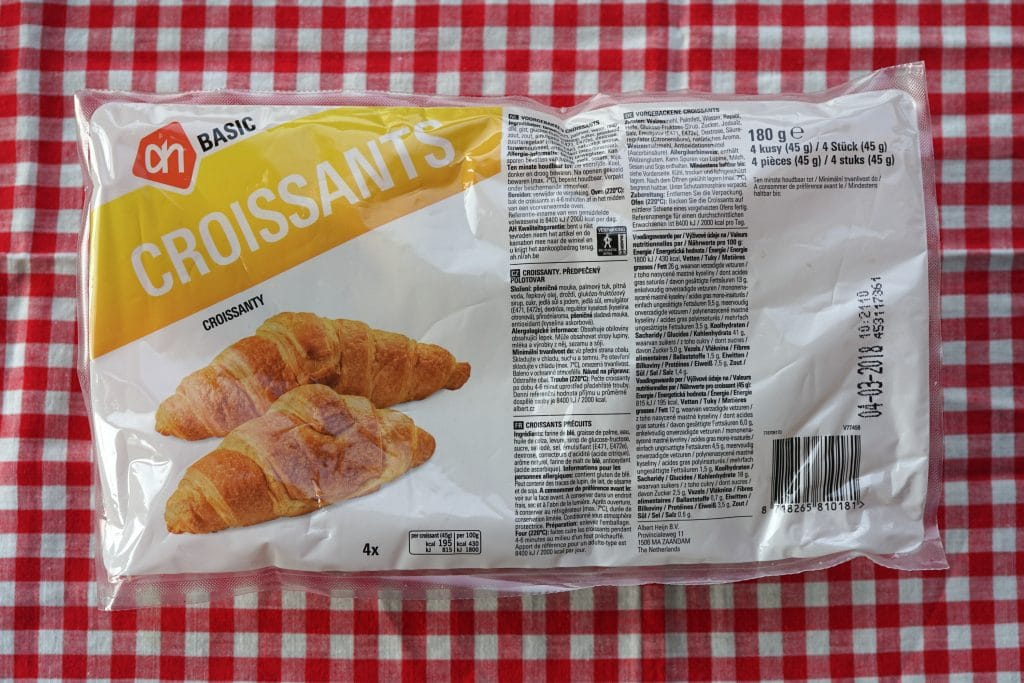 AH Basic croissants, vegan