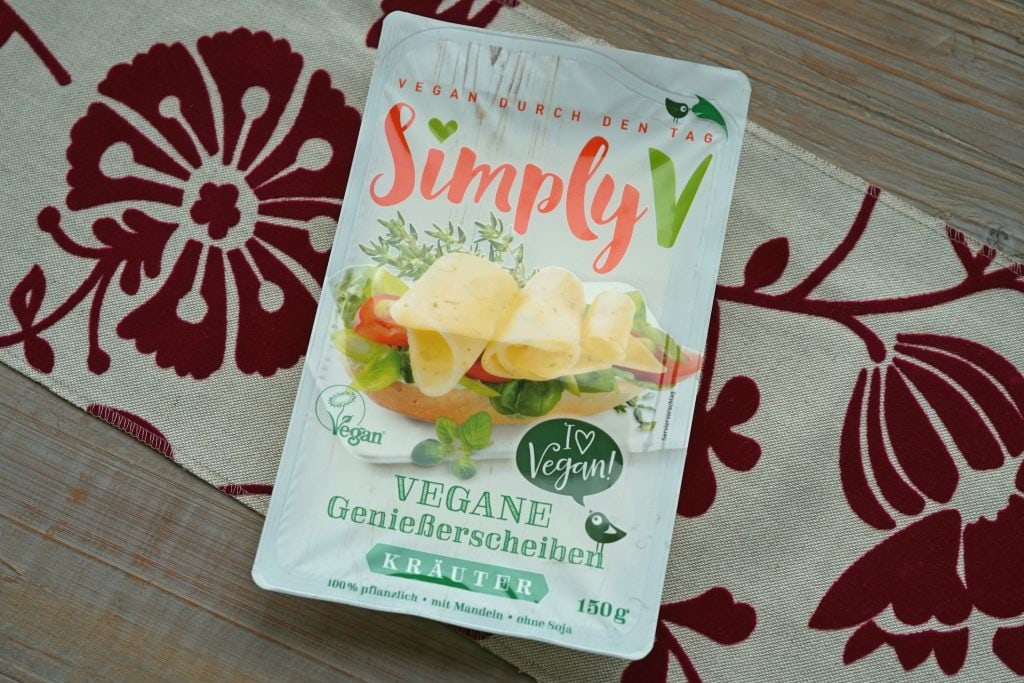 Simply V vegan kaas