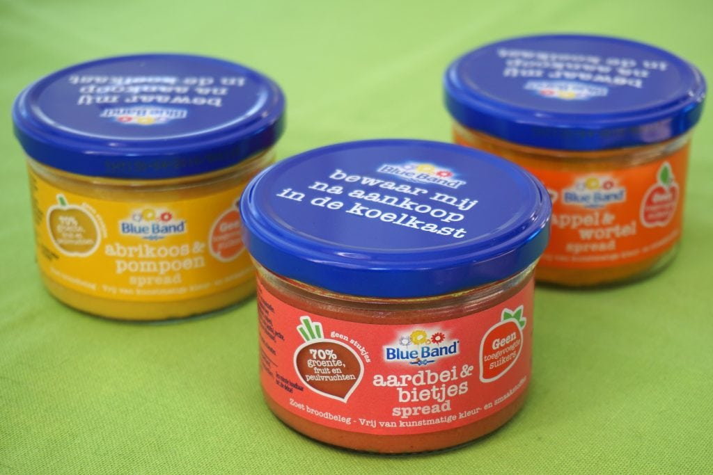 Blue band fruit- en groentespreads, vegan