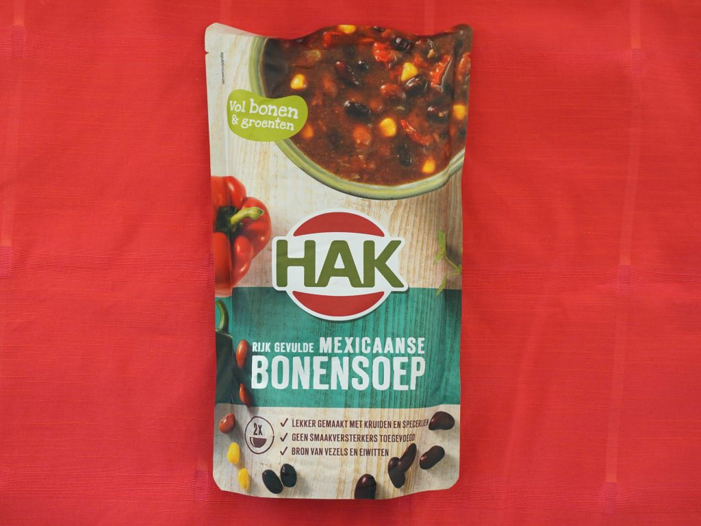 HAK Mexicaanse bonensoep, vegan