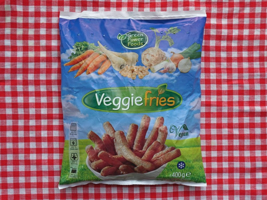 Veggiefries groentefriet, vegan