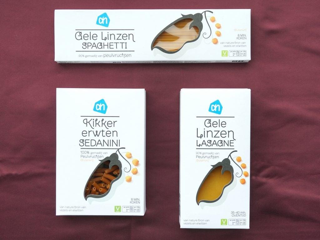 AH peulvruchtenpasta, vegan