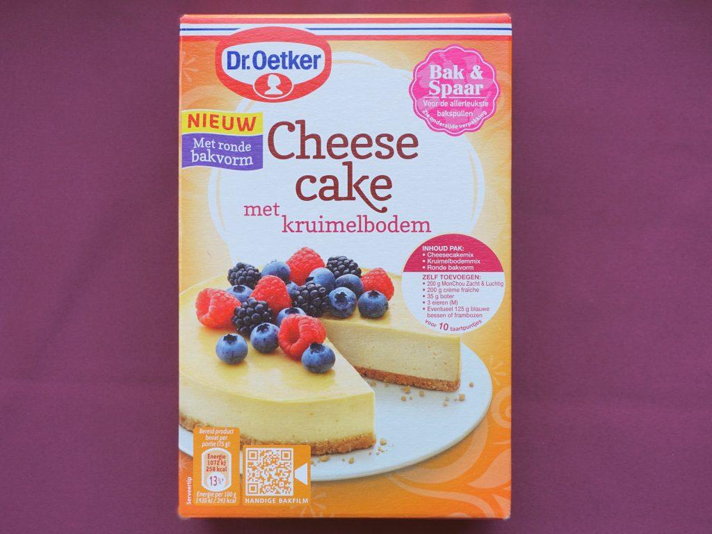 Dr. Oetker cheesecake, vegan