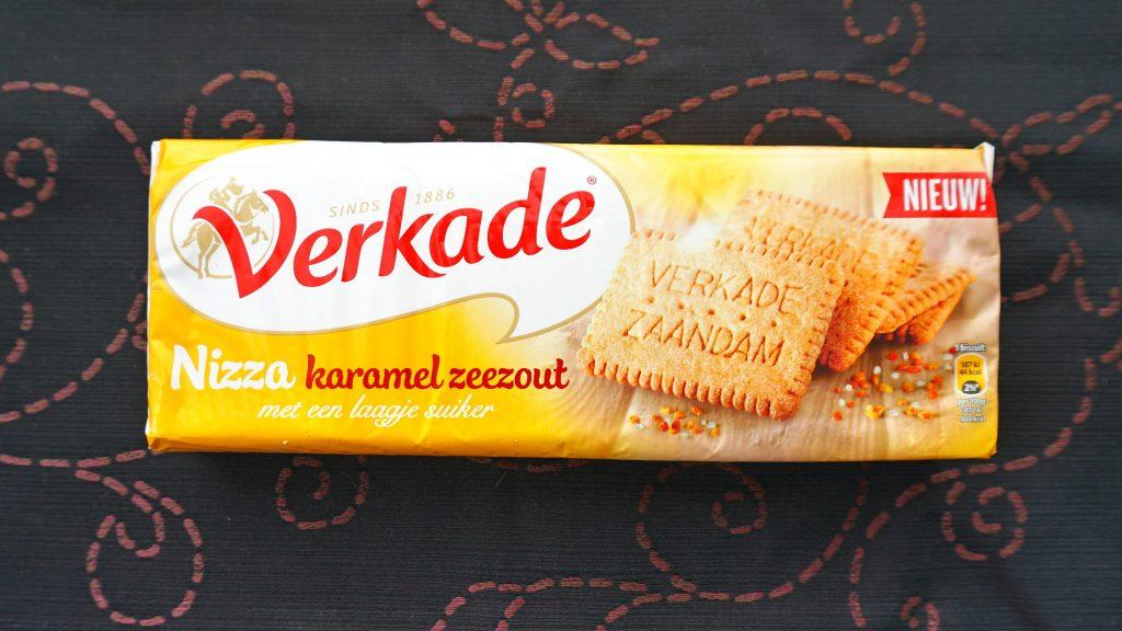 Verkade Nizza karamel zeezout, vegan