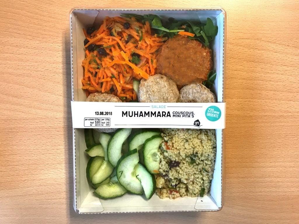 AH Muhamarra salade, vegan