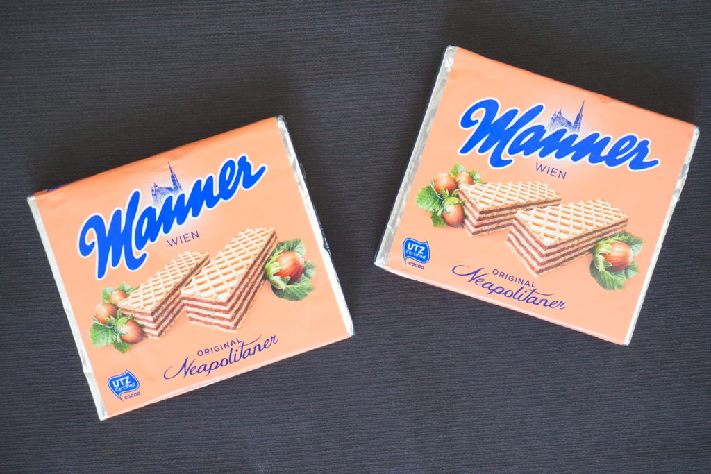 Manner wafels, vegan