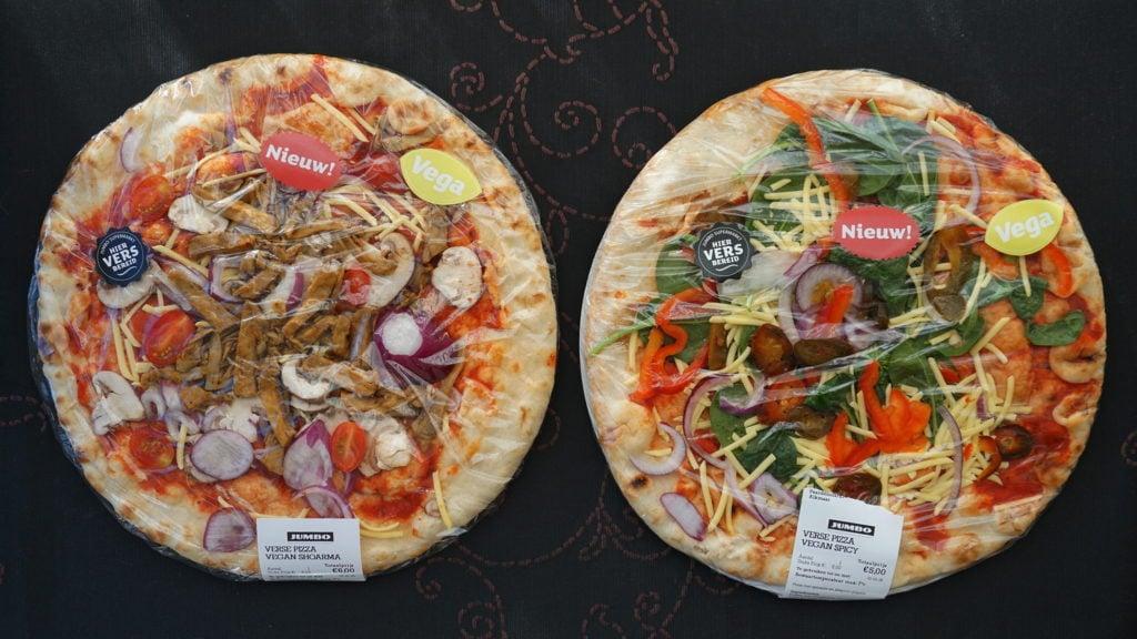 Vegan verse pizza's Jumbo