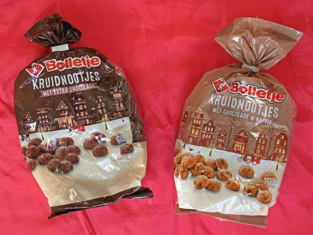 Bolletje chocolade en koffie kruidnootjes, vegan
