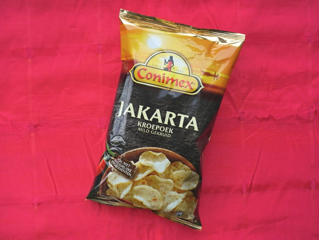 Vegan Jakarta kroepoek Conimex