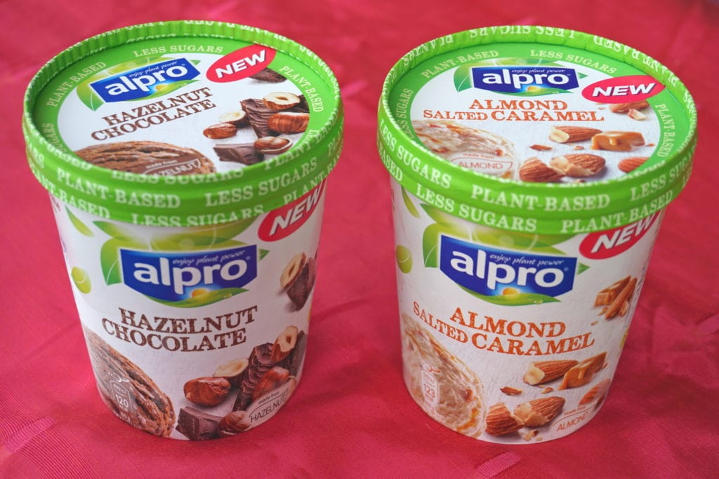 Alpro roomijs, vegan