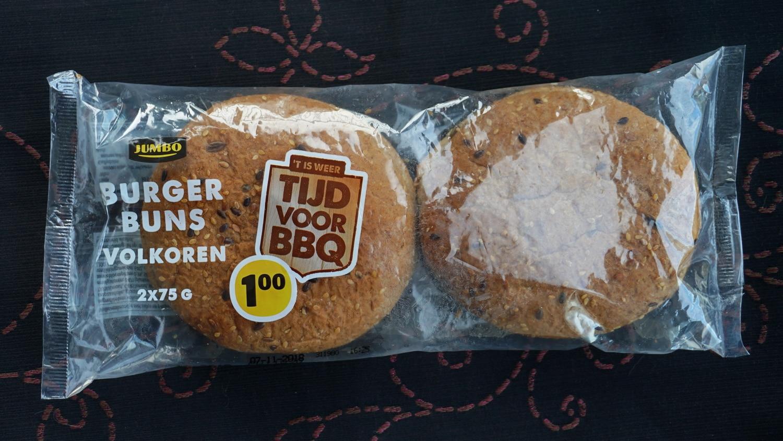 Super Volkoren hamburgerbroodjes van Jumbo – Gewoon Vegan #VC42