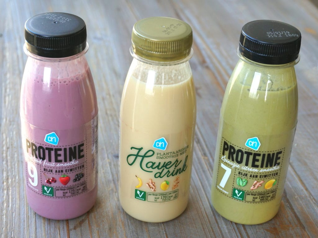 AH proteïne smoothies, vegan