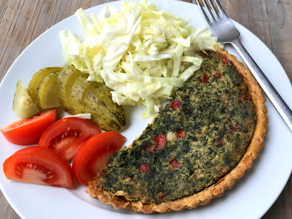 Bio Today vegan quiche