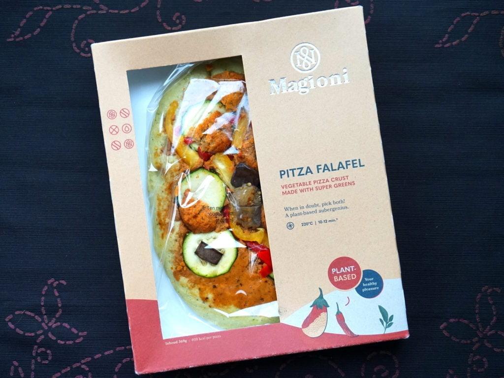 Magioni pitza falafel