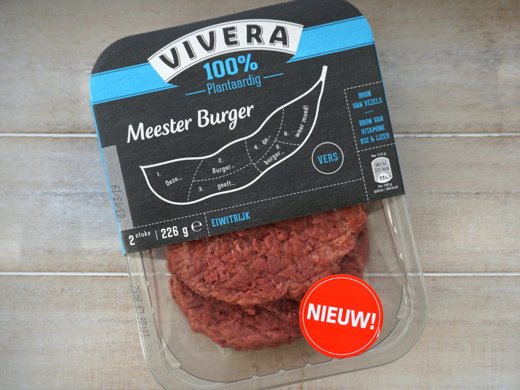 Vivera meesterburger, quarter pounder vegan