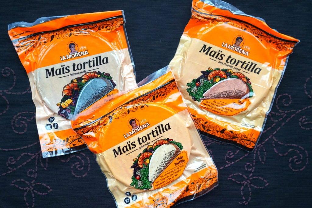 La Morena maïstortilla's, vegan