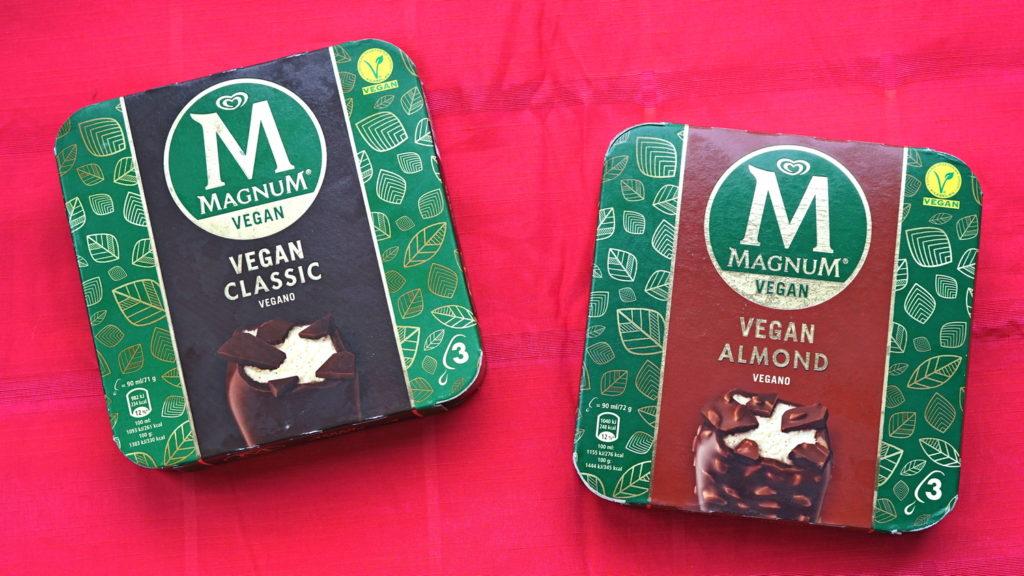 Vegan magnum almond classic