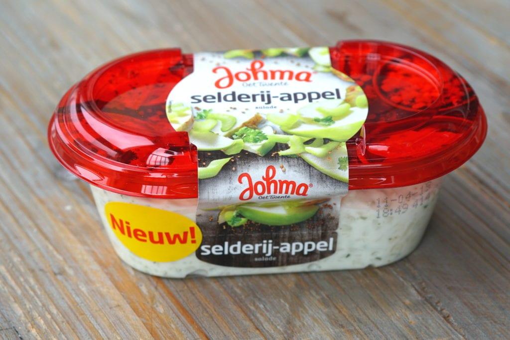 Johma vegan selderie-appel salade