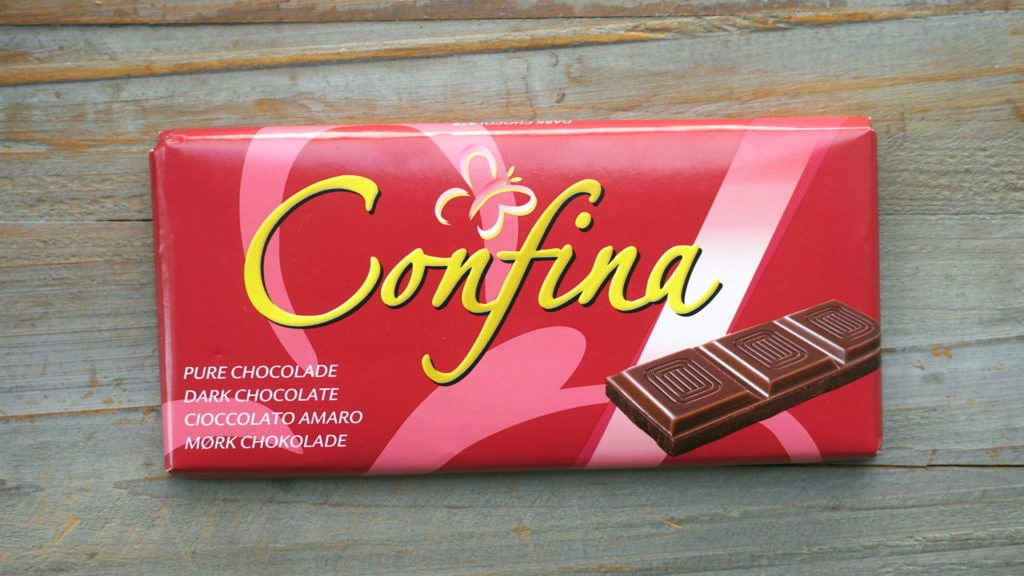Confina vegan pure chocola