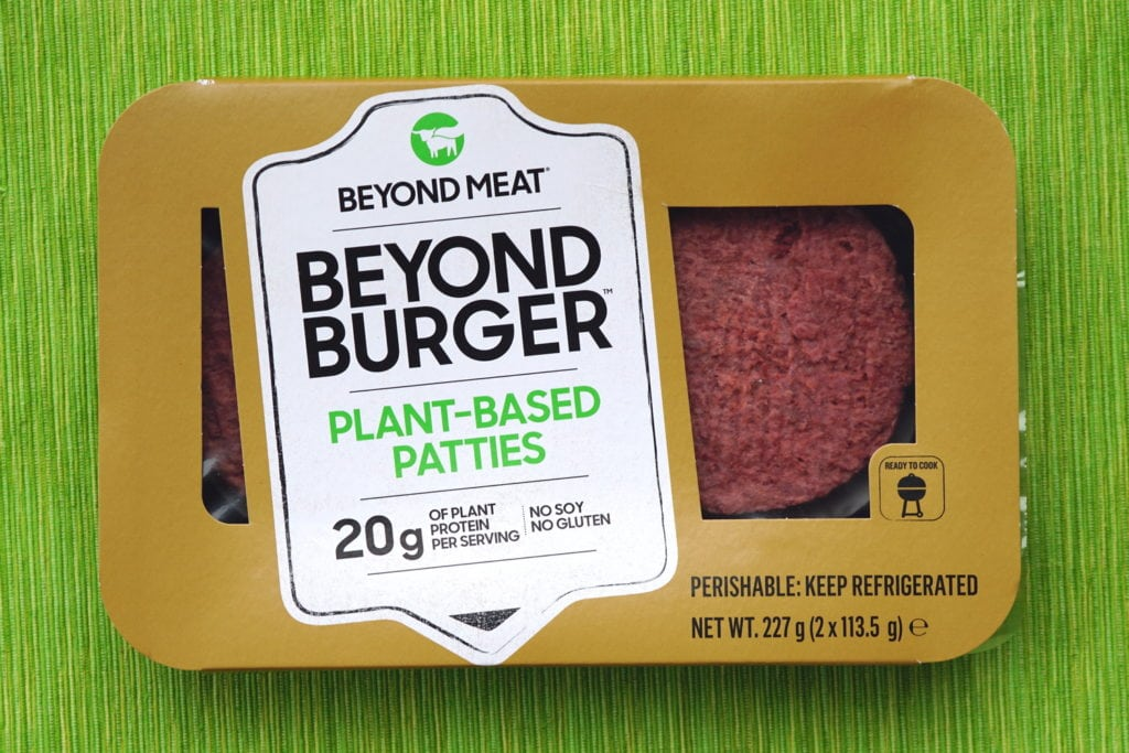 Beyond burger vegan