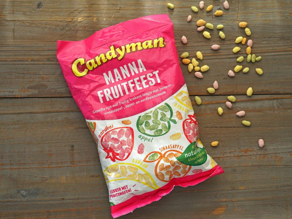 Candyman manna plofrijst vegan