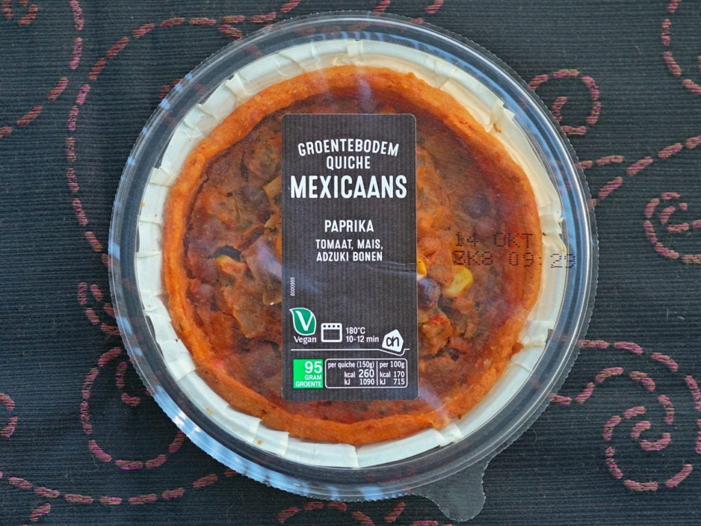 AH vegan quiche mexicaans