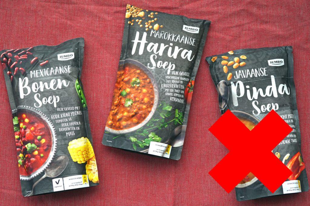Jumbo harira en Mexicaanse bonensoep vegan
