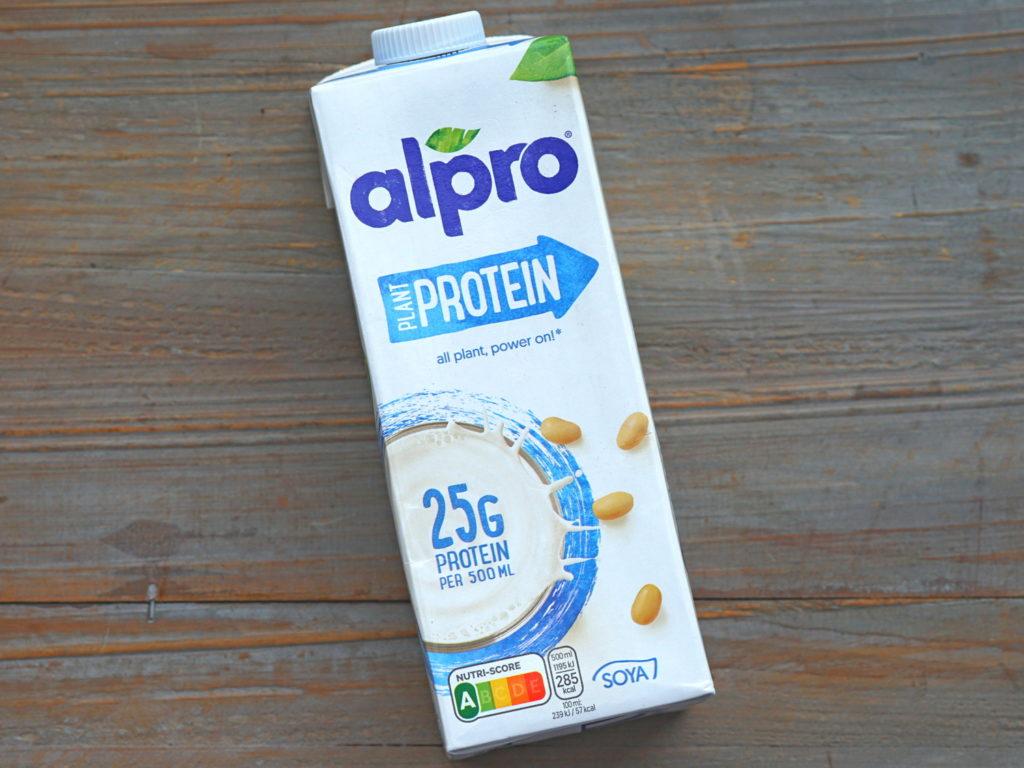 Alpro plant protein sojamelk met extra eiwit vegan