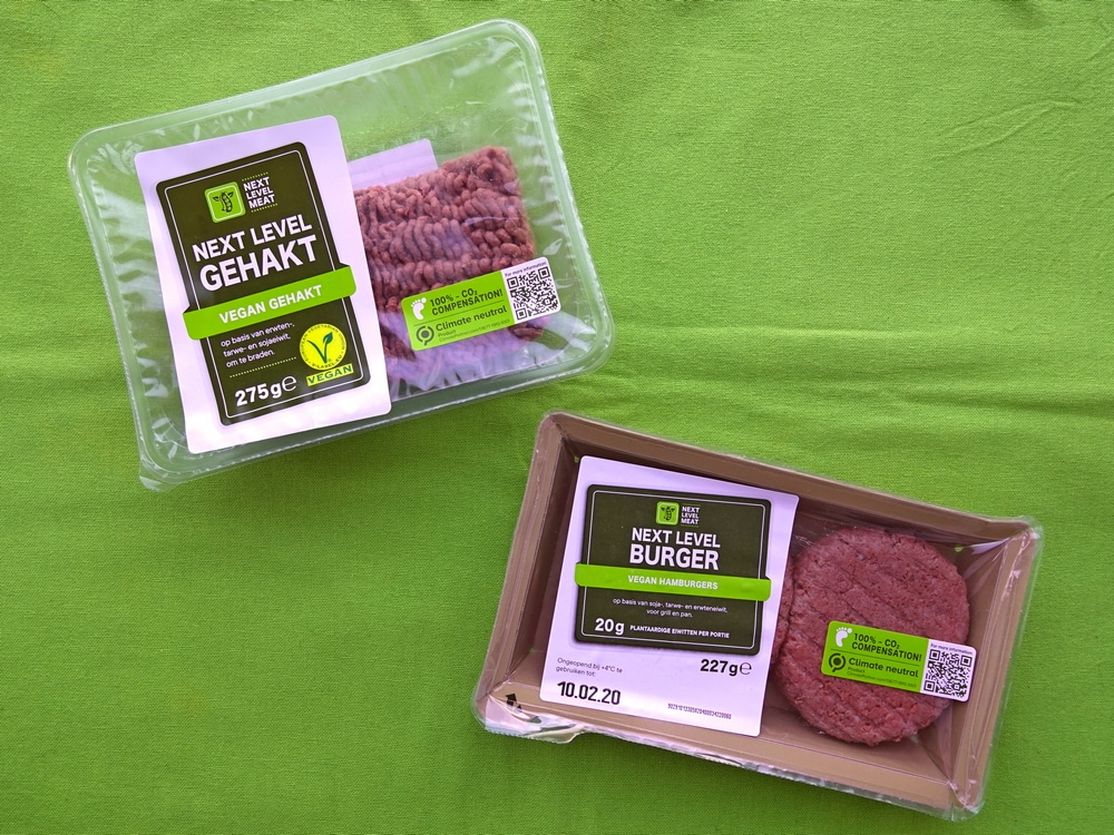 Vegan Next Level gehakt en burgers van Lidl