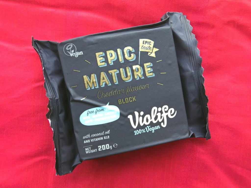 Violife epic mature cheddar