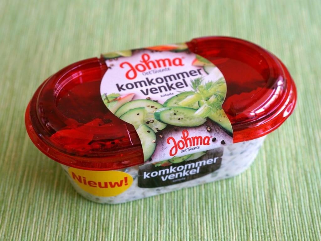 Johma komkommer-venkelsalade vegan