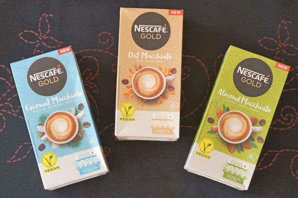 Nescafé vegan macchiato