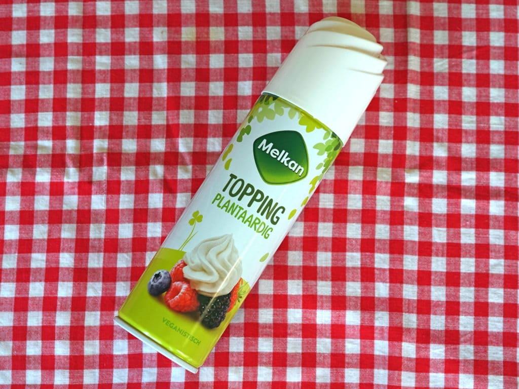 Melkan vegan slagroom spuitbus