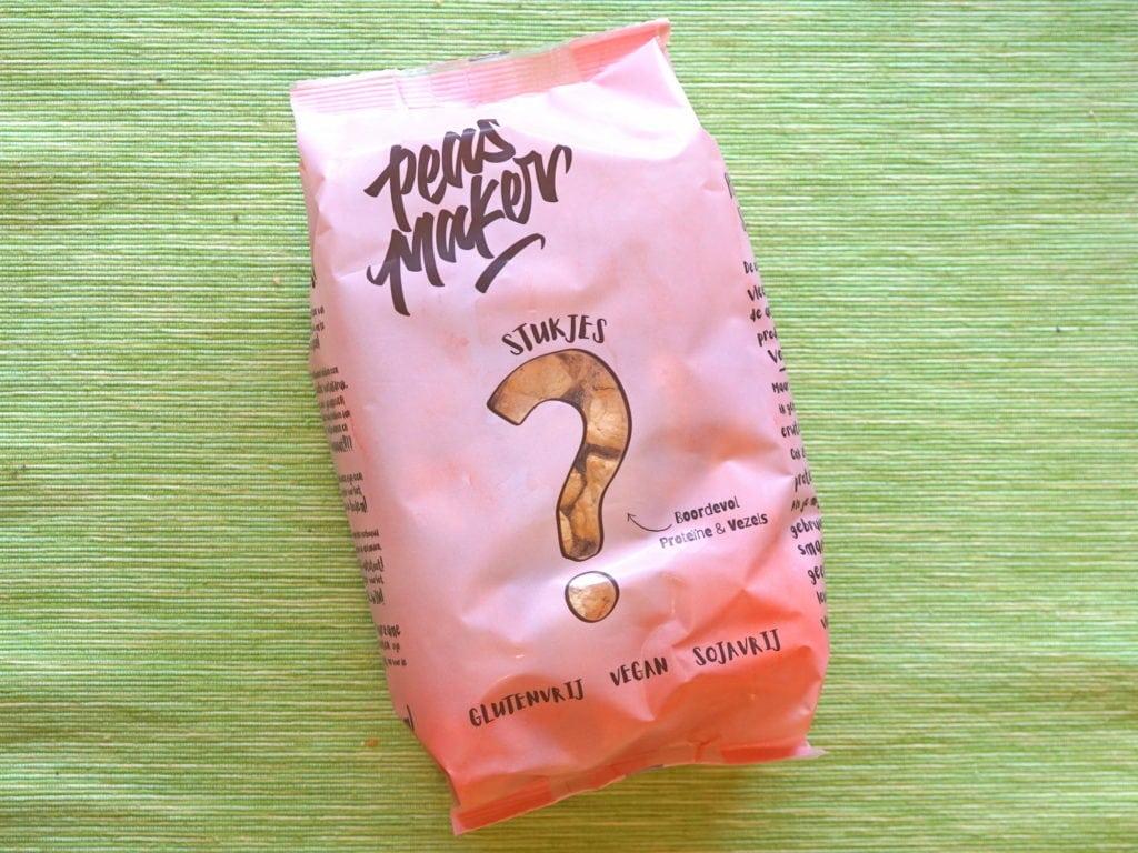 Peas makers erwteneiwit roerbakstukjes, glutenvrij sojavrij