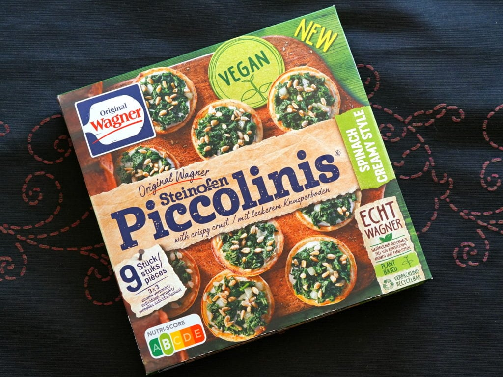 Wagner piccolinis spinazie vegan
