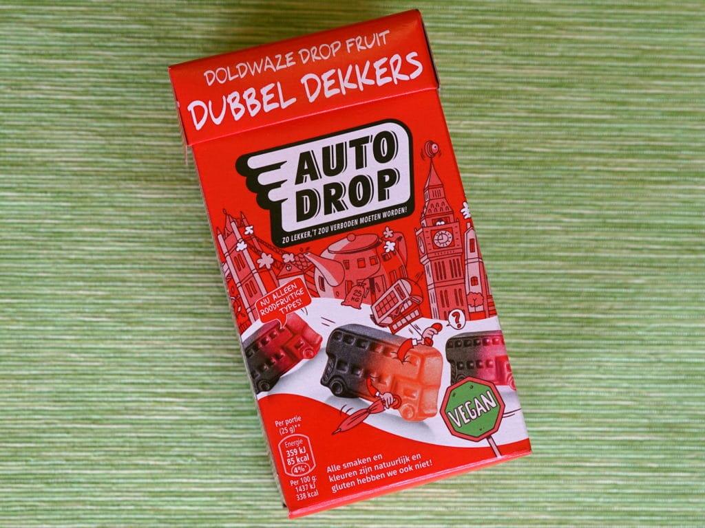 Autodrop drop dubbeldekkers vegan