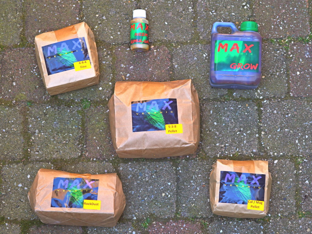Max Veganic plantaardige meststoffen moestuin